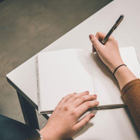 La scrittura che cura